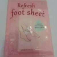 [SALE] etude refresh foot sheet