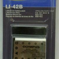 Battery Olympus Li-42B Batere Baterai