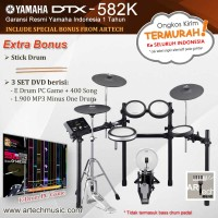 harga Drum Elektrik Yamaha Dtx582 / Dtx582k / Dtx 582 / Dtx 582k Tokopedia.com