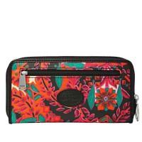 Fossil key per wallet Batik Floral