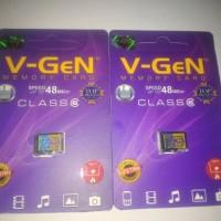 micro sd 4gb class 6 48mb/s vgen
