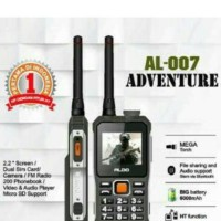 harga HP outdoor + HT + Power bank aldo al007 antena Tokopedia.com