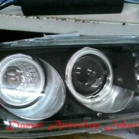 Headlamp Honda Accord VTi 98-02 Projector Black Housing, Eagle Eyes