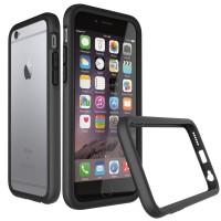 harga RHINO SHIELD CRASH GUARD BUMPER (CHARCOAL BLACK) - IPHONE 6S/6 Tokopedia.com
