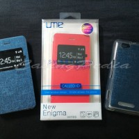 Sony Xperia M C1905 - Dual C2005 - Ume New Enigma Series Flip Cover