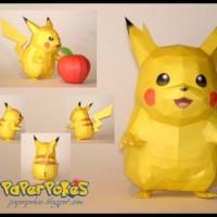 Papercraft Pokemon - pikachu - Art Carton 260gsm A3
