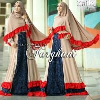 Gamis brokat cantik Zaila by Farghani