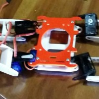 Spider Robot Quad Case, Quadruped, Rangka Robot SG90 Quad Arduino