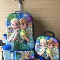 Jual Tas Trolley Anak 4 In 1 Frozen Fever 6D Murah