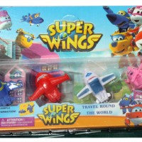 Super Wings Isi 4 Pcs