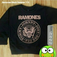 "Sweater Anak ""Ramones Black"""