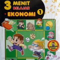 Buku Komik Edukasi : 3 Menit Belajar Ekonomi buku 1