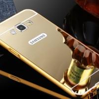 Case Mirror Metal Bumper Sliding Samsung Galaxy J7 / J7 Core