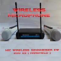 harga Mic Wireless Sennheiser Ew 200 G3 Pro Tokopedia.com