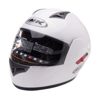 Helm INK CL1 White Solid Full Face Putih Polos Fullface CL 1