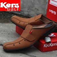 Sepatu Sandal Kickers Galf / Sandal Lebaran Murah / Sandal Kulit