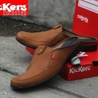 Sepatu Sandal Kickers Lacoste / Sandal Murah / Sandal Lebaran / Sandal