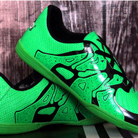 Sepatu Futsal Adidas Adizero F50 Anaconda Green Lime