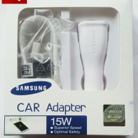 Car Adapter Charger Cas Mobil Samsung Galaxy Note 4 Note 5 S6 S7 ORI