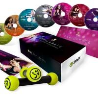 Paket Video Senam Zumba Fitness Exhilarate