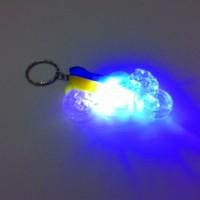 Harga gantungan kunci model sepeda motor lampu warna | antitipu.com