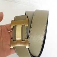 SABUK BELT GESPER HERMES LEATHER ABU (GOLD)