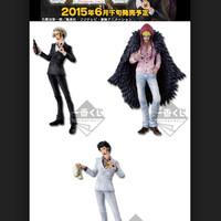 Ichiban Kuji History Of Law Set Of 3 KWS One Piece Figure