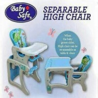 harga High Chair/kursi Makan Anak 3in1 Baby Safe Tokopedia.com