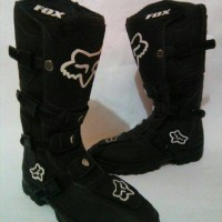 harga FOX SEPATU BOOTS LOKAL HITAM MX MOTOCROSS TRAIL ADVENTURE TURING CROSS Tokopedia.com