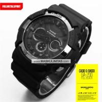 harga Jam Pria Casio G-Shock GA-200 Black Tokopedia.com