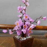 Jual Pohon Sakura Hias Dekorasi Imlek Bunga Plastik Artificial Murah