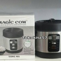 Magic Com Yongma MC-3480, Black & Stainless Edition