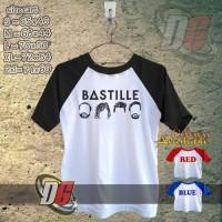 KAOS OBLONG RAGELAN - Bastille Logo Icon copy