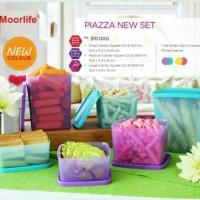 Harga moorlife piazza new set toples tempat kue non   Pembandingharga.com