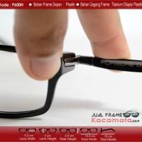 Frame Kacamata Korea Porsche P6001 + Lensa Plus / Minus Anti Radiasi