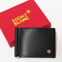 DOMPET MONEY CLIP Mont Blanc 6834 HITAM