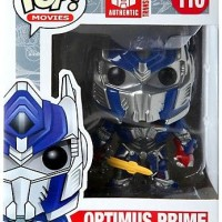 Funko POP! Movies Transformers - Optimus Prime w/ Sword EXCLUSIVE #110