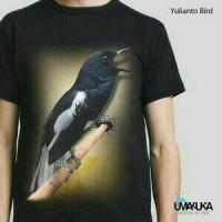 harga kaos3d unik motif yulianto bird Tokopedia.com