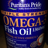 OMEGA 3 FISH OIL 1360MG ISI 120CAP PURITAN PRIDE