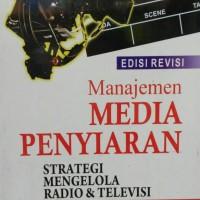 harga Manajemen Media Penyiaran: Strategi Mengelola Radio & Televisi Tokopedia.com