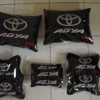 Bantal Agya/ Bantal mobil Toyota Agya TRD S/ Bantal tulang mobil Agya