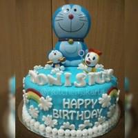 Kue Ulang Tahun Doraemon/Doraemon Birthday Cake