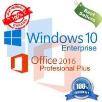 Windows 10 Enterprise + Microsoft Office 2016 Pro Plus, ORI