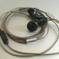 Sennheiser MX500 + mic (DIY)