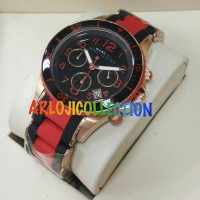 MARC JACOB RUBBER HITAM MERAH GRADEE AAA CEWEK - ARLOJICOLLECTION