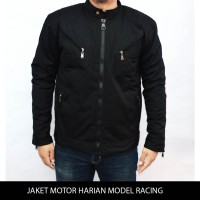 jaket motor harian model racing tahan angin, anti air,bara M-XXL