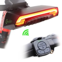 Smart Bicycle X5 Remote Wireless Rear Light Turn Signal With Laser