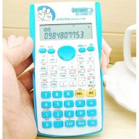Kalkulator Scientific Karakter Doraemon Sin Cos Tan