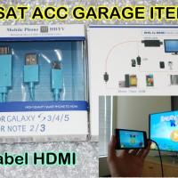 Kabel Micro USB TO HDMI SAMSUNG HDTV Mobile Phone To TV HIGH Quality