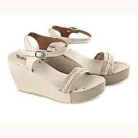 Sandal Wedges Wanita / Sandal Tali Murah Pesta / Sandal Wanita Distro